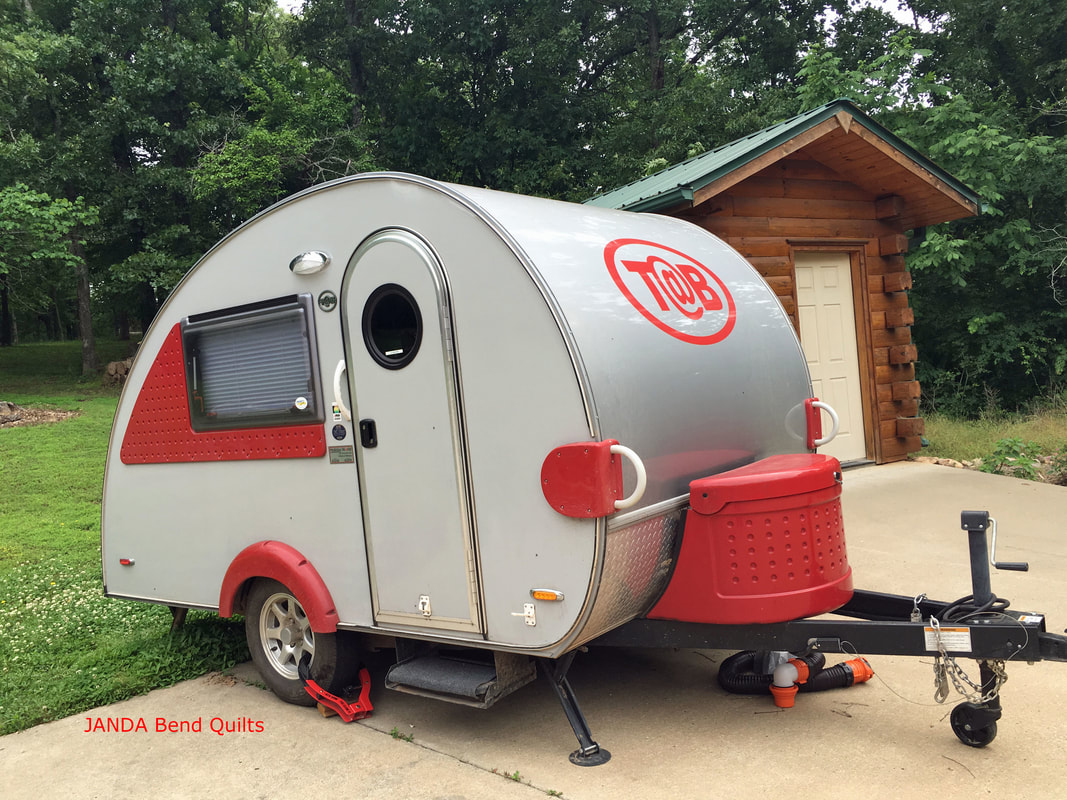 Picture of our Teardrop Trailer