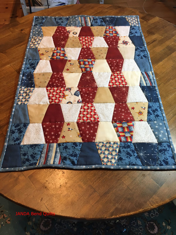 Picture of Patriotic Table Runner