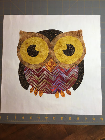 Picture of Block 12: Owl