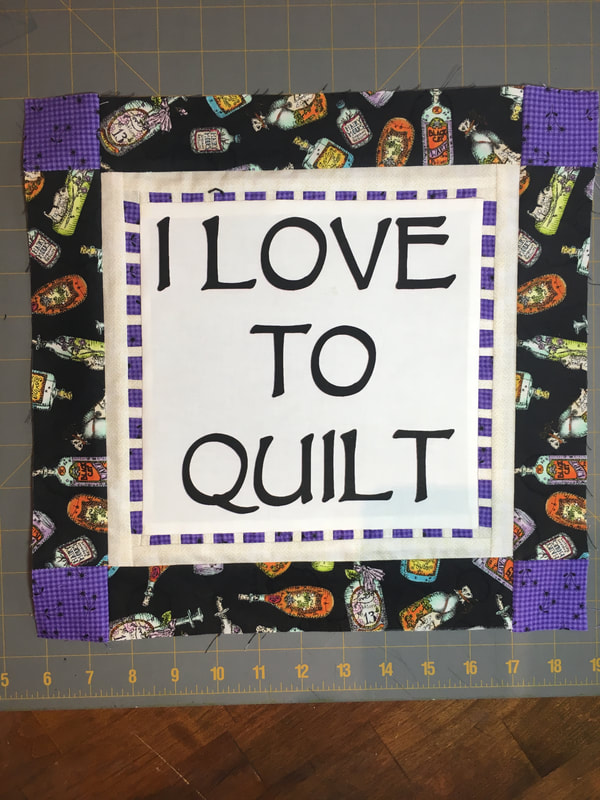 Block 9: I Love to Quilt Link