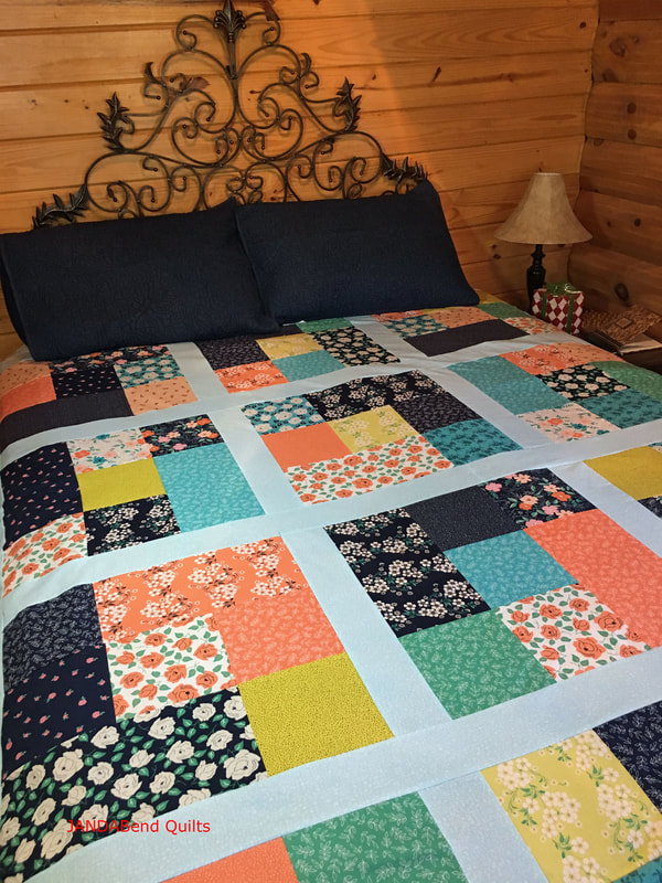 Picture of Fat Quarter Shop Cubes Quilt