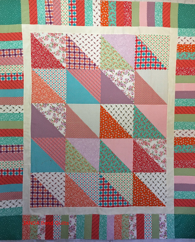 Picture of Modified Dessert Time Quilt by Quilt in a Day