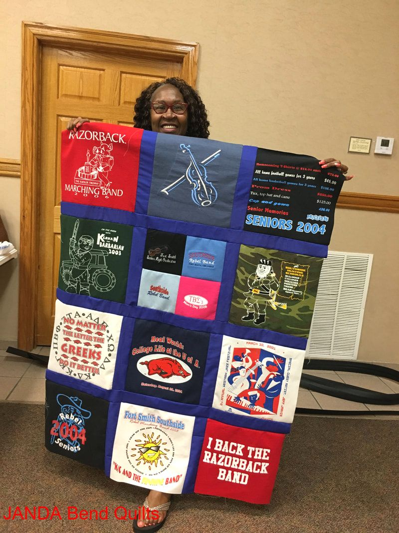 Picture of T-Shirt Quilt