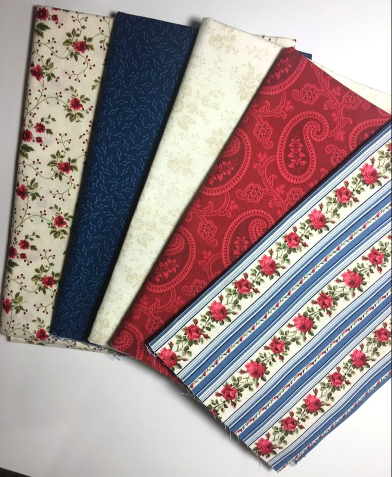 Picture of Fabrics Used
