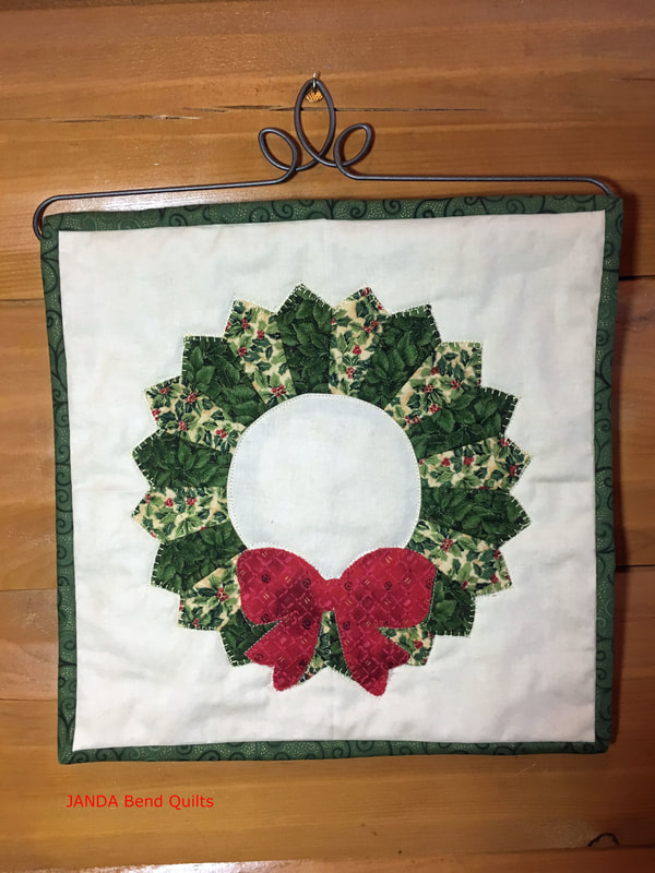 Picture of Quilt Block in Hanger