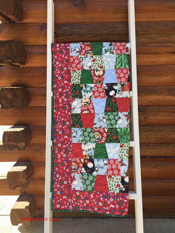Picture of Quilt on New Display Ladder