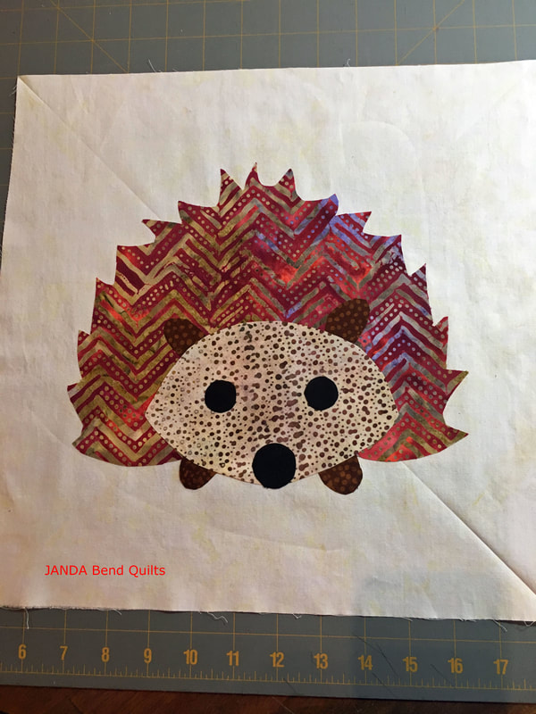 Picture of Ironed on Hedgehog