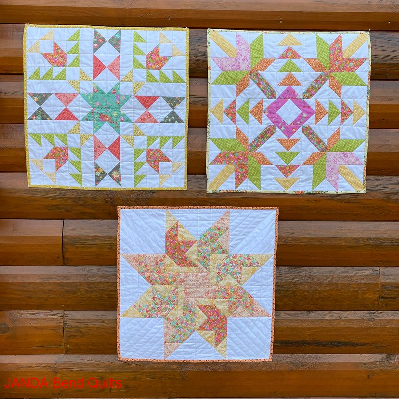 Picture of Barn Quilt BOM Mini Quilts