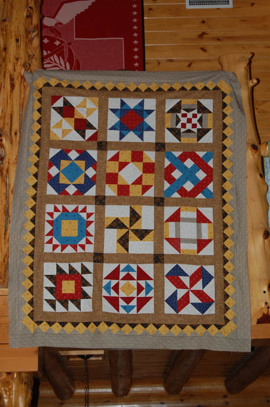 Picture of Pioneer Sampler Quilt