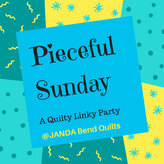 Pieceful Sunday Linky Party Link