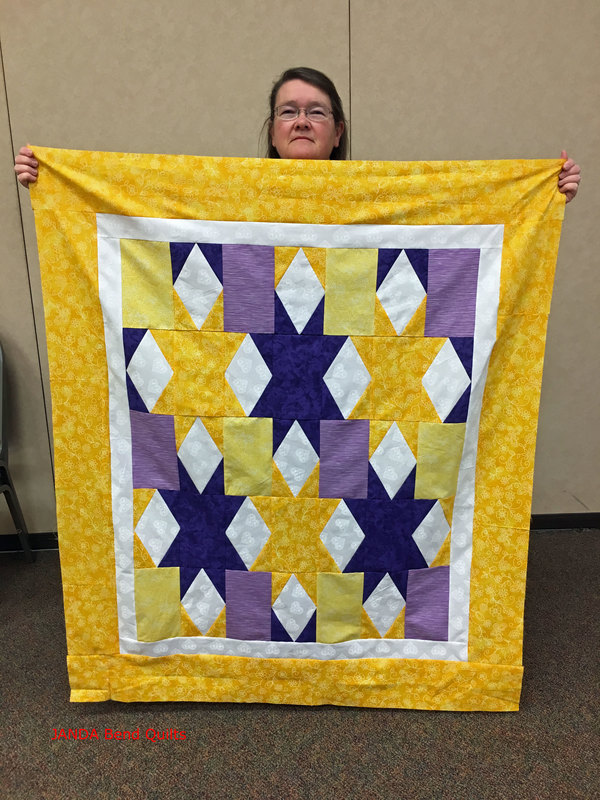 Picture of Gir's Best Friend Quilt Top by Sheila Wood