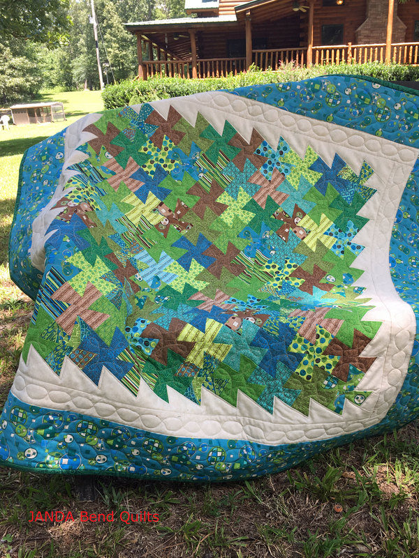 Picture of Science Twister Quilt